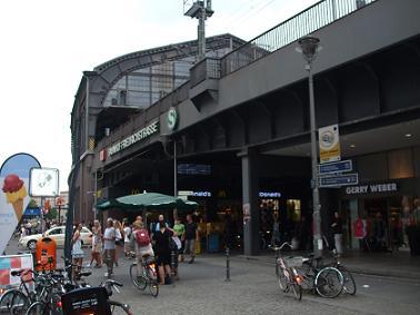 station friedrichstrasse in berlin